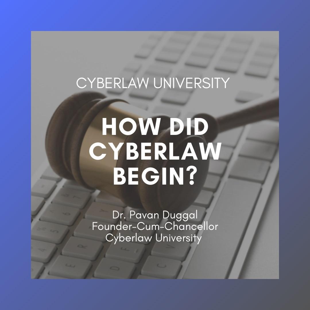 cyberlaw begin