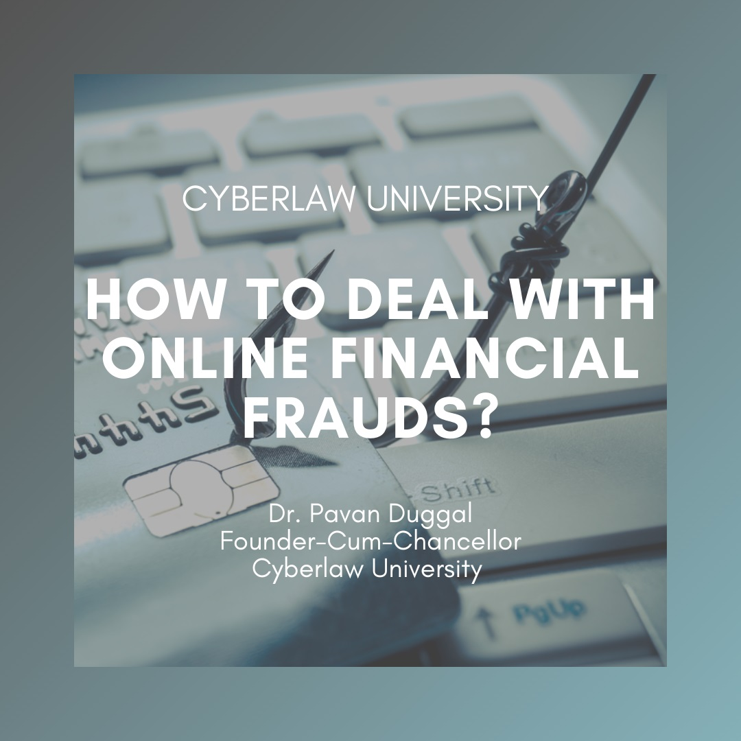 how to deal with online financial frauds