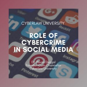 role of cybercrime social media