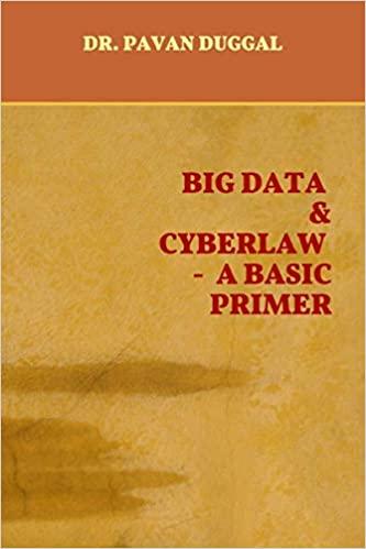 BIG DATA & CYBERLAW- A BASIC PRIMER (Paperback)