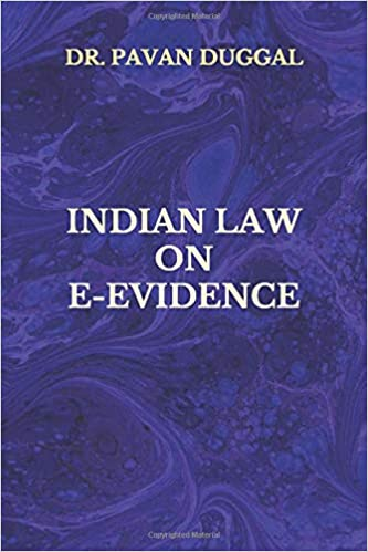 INDIAN LAW ON E-EVIDENCE (Paperback)