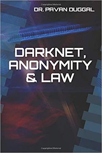 DARKNET, ANONYMITY & LAW (Paperback)